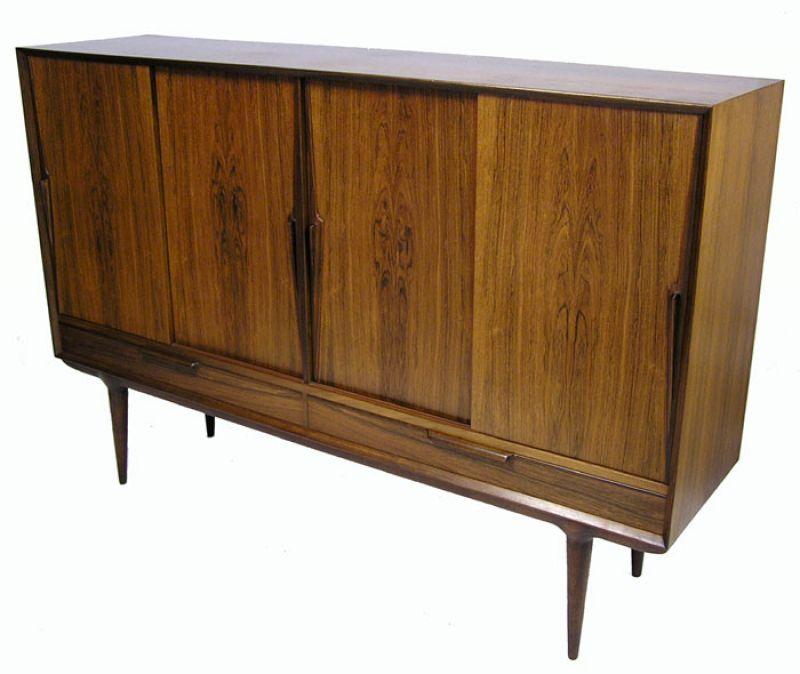 1960s Tall Rosewood Sideboard *Gunni Omann*