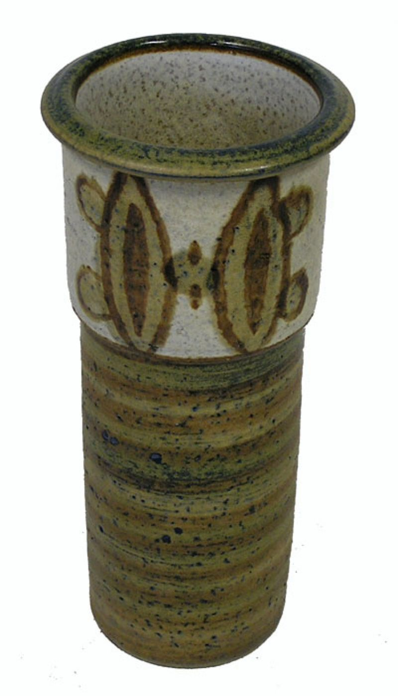 1960s Danish Quot Soholm Quot Pottery Vase 2 Available Hoopers