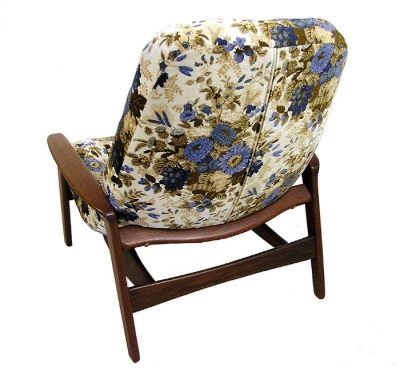1960 70s Teak Lounge Chair R Huber Hoopers Modern