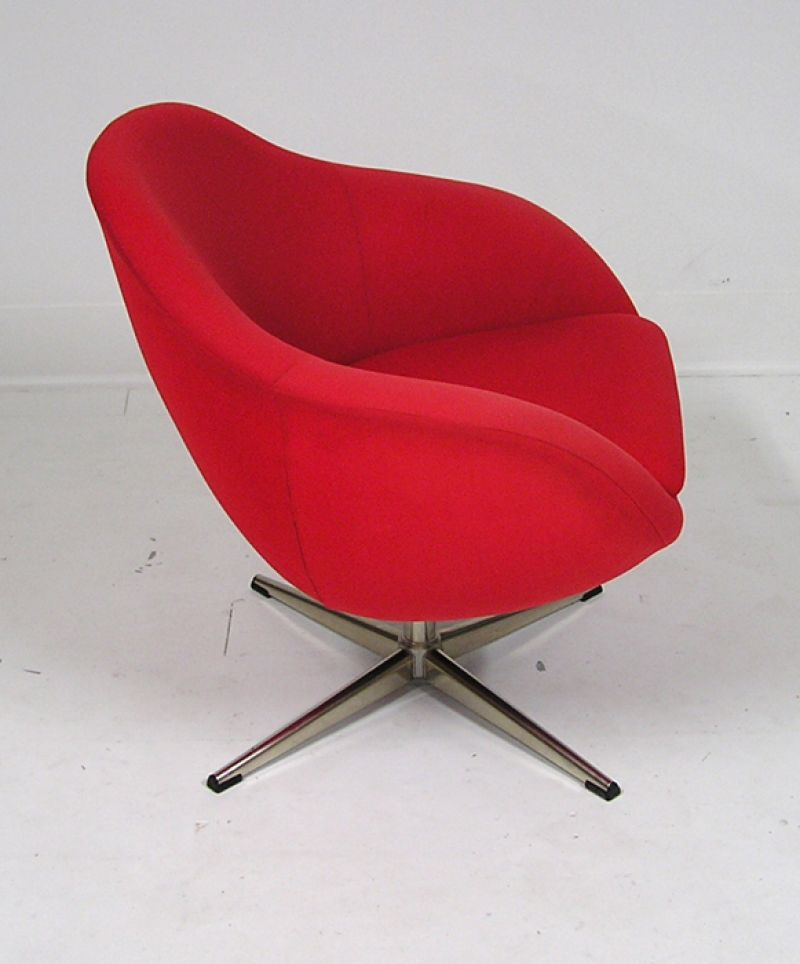 1960 S Quot Overman Quot Pod Swivel Chairs Sweden Hoopers Modern