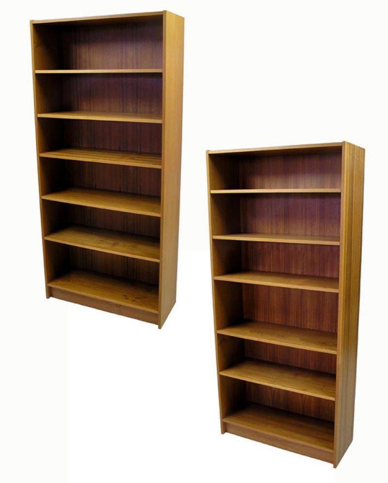 1970s Tall Teak Bookshelf 2 Available