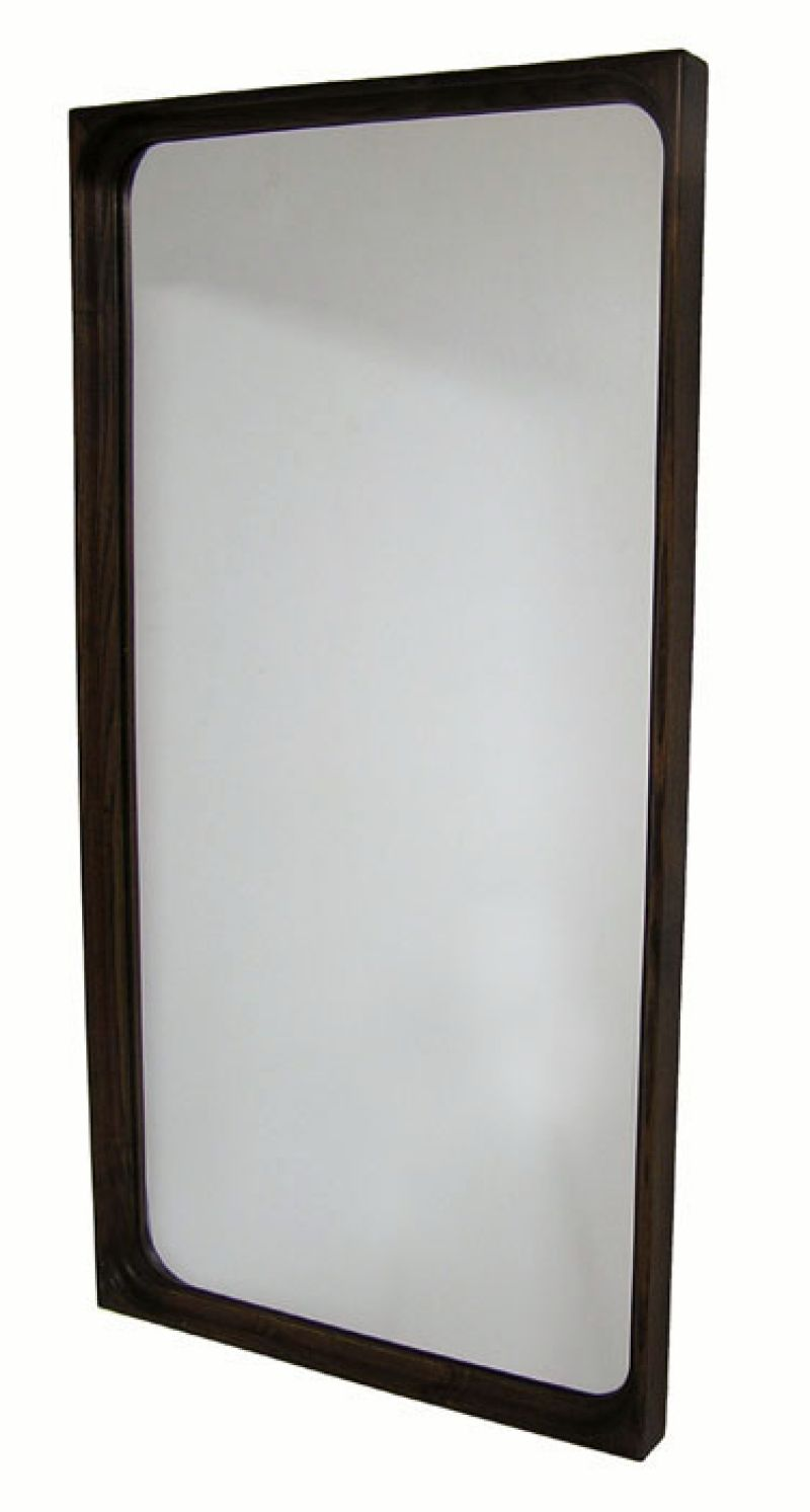 1960s Rosewood Wall Mirror *Denmark*