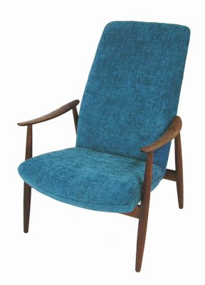 1960s Scandinavian Modern Lounge Chair