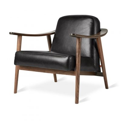 Baltic Lounge Chair by Gus* Modern (Leather)