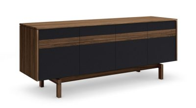 Banjo Walnut Sideboard Media Unit by Mobican