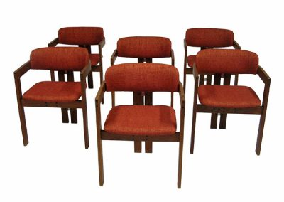 1970s Teak Dining Chairs *Set of Six*