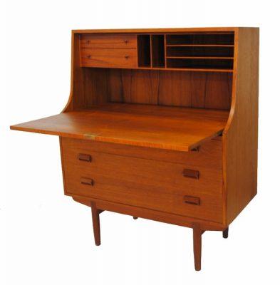 1960s Teak Secretary Desk by Borge Mogensen * Denmark *