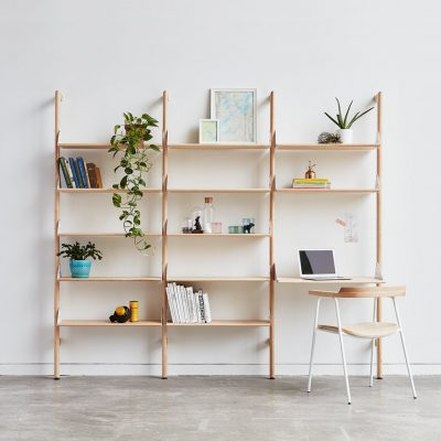 Branch Shelving Unit w/Desk by Gus* Modern