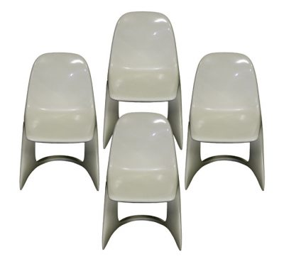 "1970s ""Alexander Begge"" Casalino Chairs *Set of 4*"