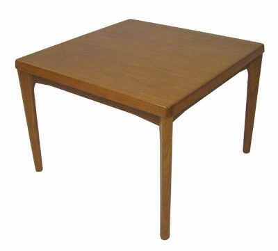 1960s Square Danish Teak Side Table *Henning Kjaernulf*