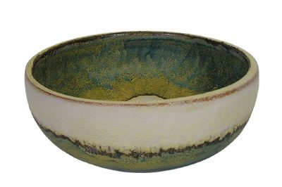 1970s Italian Ceramic Pottery Bowl *Marcello Fantoni*
