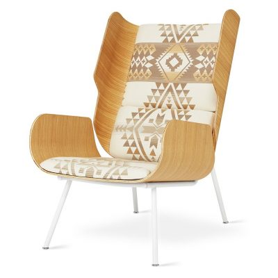 Elk Chair by Gus* Modern * Limited Pendleton Edition *