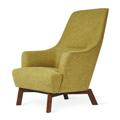 Hilary Easy Chair by Gus* Modern * Bayview Dandelion *