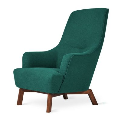 Hilary Easy Chair by Gus* Modern * Stockholm Juniper *