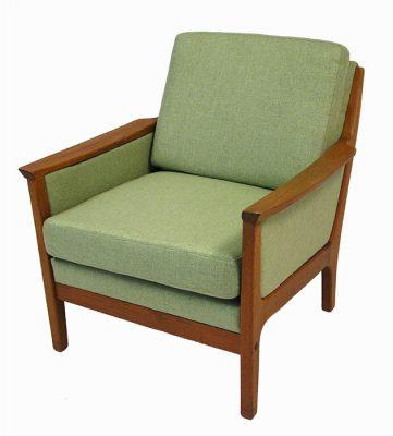 1960/70s Teak Easy Chair *R. Huber*