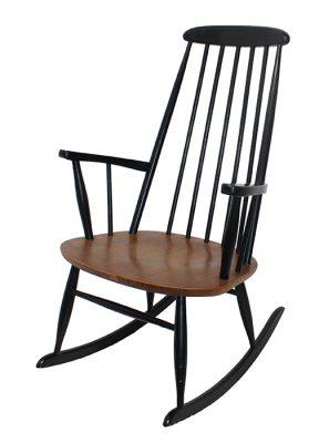 1960s Ilmari Tapiovaara Rocking Chair * Finland *