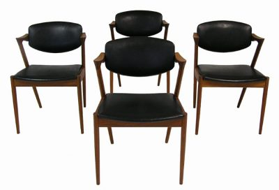 1950s Kai Kristiansen Teak Dining Chairs *Set of Four*