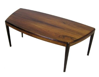 1960s Danish Rosewood Coffee Table by Kai Kristiansen