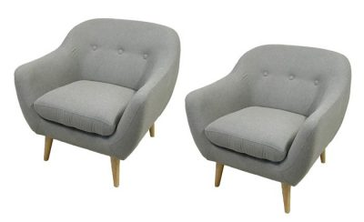 Danish Modern Style Easy Chair *2 Available*