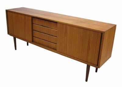 1960/70s Low Teak Sideboard *Denmark*