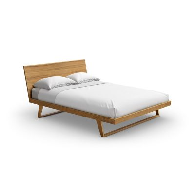 Malta Queen Size Walnut Bed by Mobican