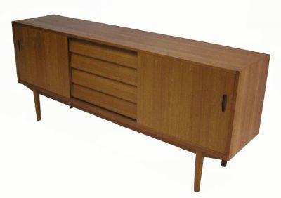 1960s Low Teak Sideboard *Nils Jonsson*