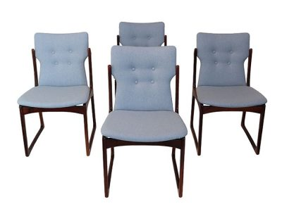 1960s Danish Rosewood Dining Chairs  *Set of 4 *