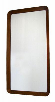 1960s Teak Mirror by Pedersen & Hansen * Denmark *