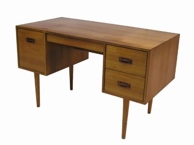 1960/70s Small Danish Modern Style Teak Writing Desk
