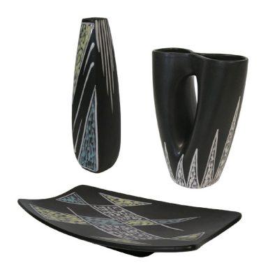 1950s Soholm Ceramic Pottery Set *Svend Aage Jensen / Holm Sorensen*