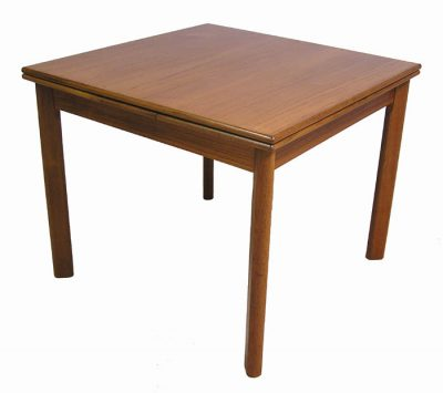 1970s Small Teak Draw-Leaf Dining Table *Denmark*