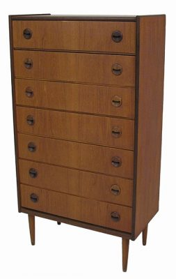 1960s Teak Chest of Drawers *Denmark*