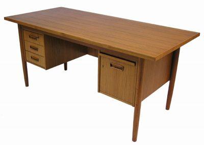 1960/70s Danish Teak Desk