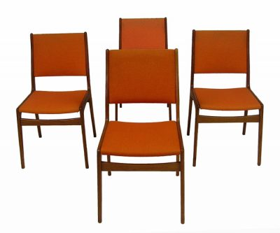 1960s Danish Teak Dining Chairs *Set of 4*