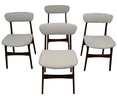 1960s Danish Teak Dining Chairs *Set of 4*