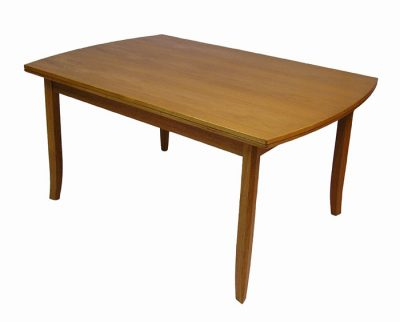 1970/80s Teak Draw-Leaf Dining Table