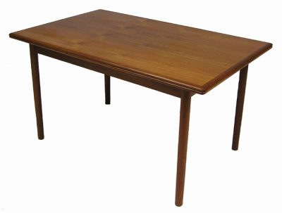 1960s Teak Draw-Leaf Dining Table *Denmark*