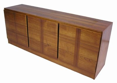 1970s 9-Drawer Teak Dresser *RS Associates*