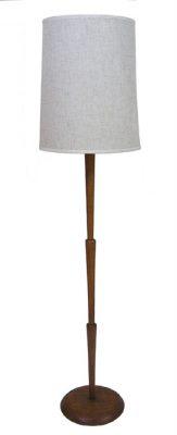 1970s Teak Floor Lamp