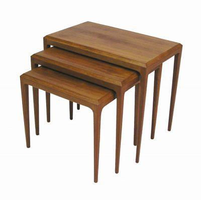 1960s Danish Teak Nesting Tables *Johannes Andersen*