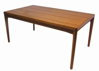1960s Large Danish Teak Draw-Leaf Dining Table *Henning Kjaernulf*