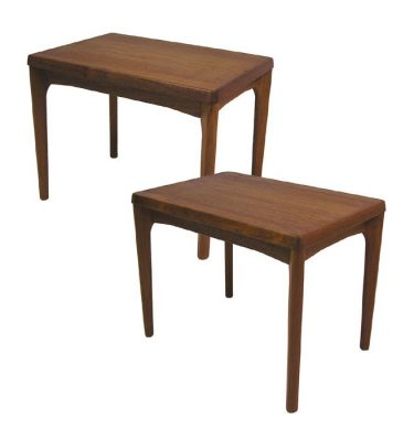 1960s Danish Teak Side Tables * Henning Kjaernulf *