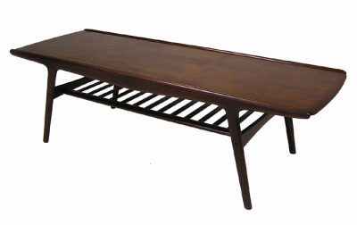 1950s Danish Teak Coffee Table *Arne Hovmand-Olsen*