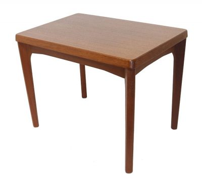 1960s Danish Teak Side Table * Henning Kjaernulf *