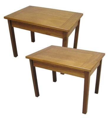 1970s Teak End/Side Table *2 Available*