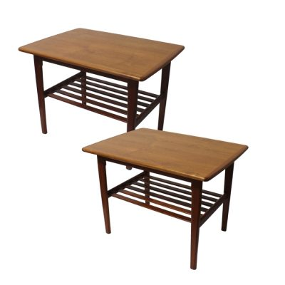 1960s Teak Side Table w/Lower Shelf * 2 Available *