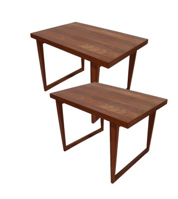 1960s Teak Side Tables * 2 Available *