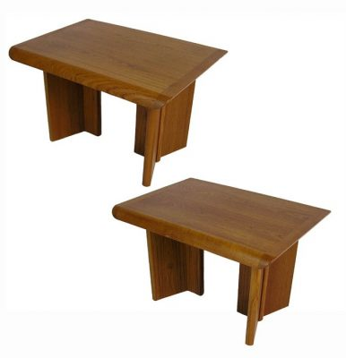 Vintage Teak End Table w/Tapered Edge *2 Available*