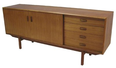 1960/70s Low Teak Sideboard