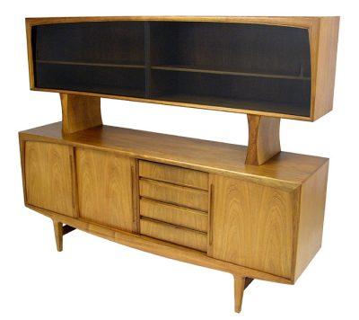 1960/70s Teak Sideboard & Hutch